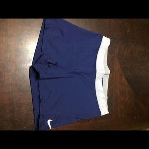 Nike Pro shorts navy and gray size Large